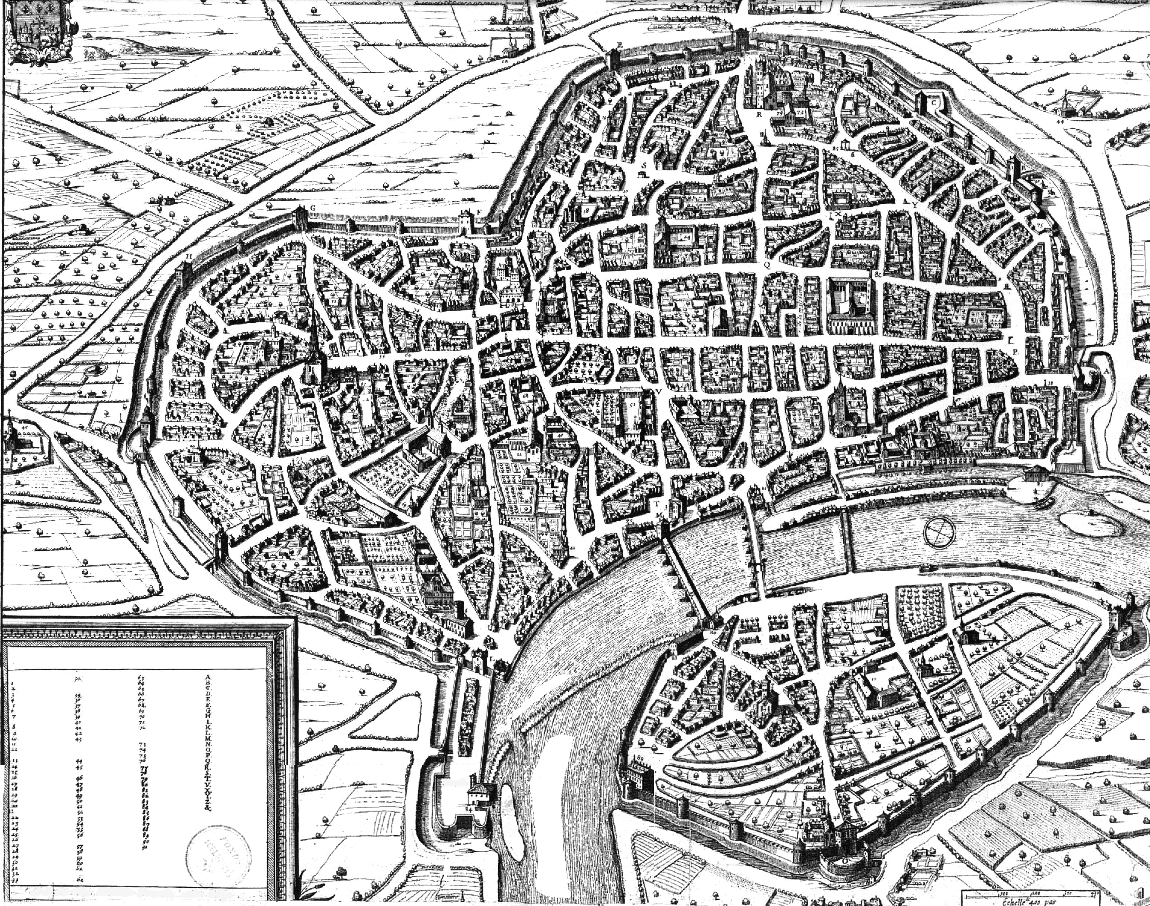 use this 17th century city map for your home base « Blog of Holding